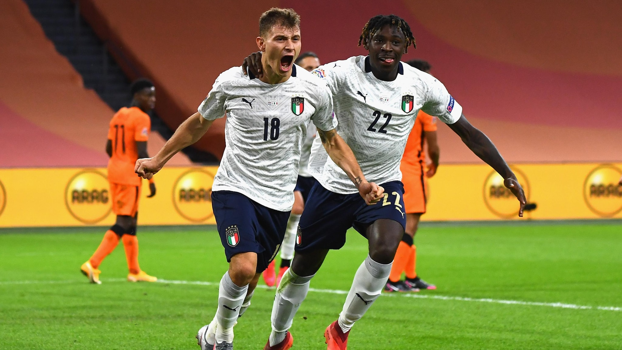 Highlights Netherlands 0 1 Italy Uefa Nations League Uefa Com