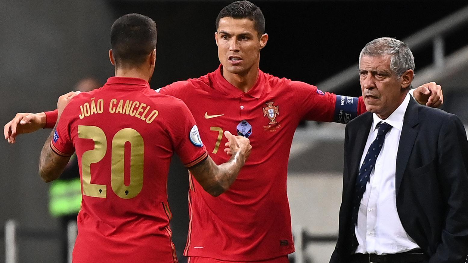 Ronaldo reaches century for Portugal