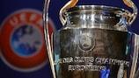 The UEFA Champions League trophy
