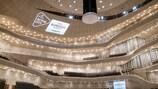 La salle de la Philharmonie de l'Elbe, à Hambourg