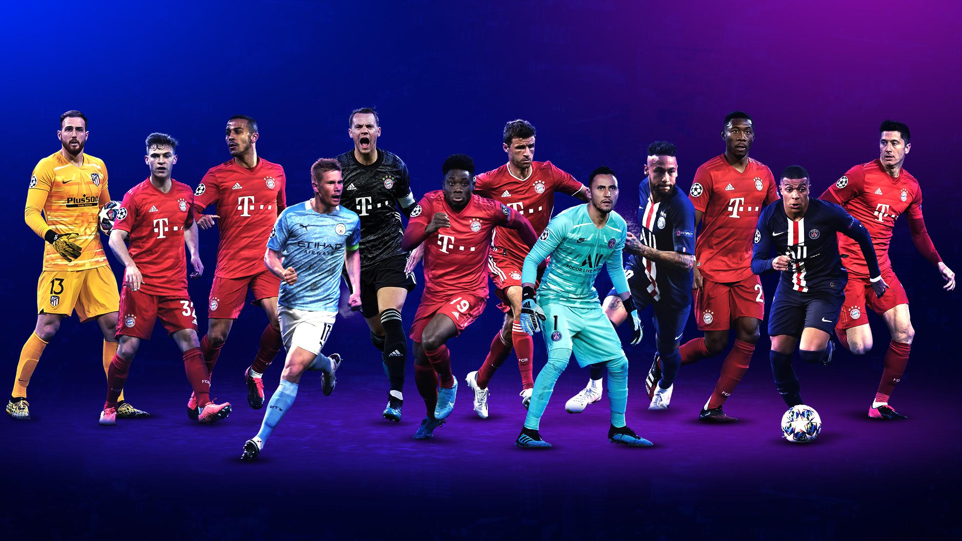 Champions League positional awards nominees announced ...
