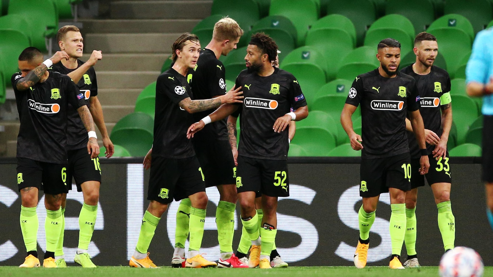 Krasnodar Paok Krasnodar 2 1 Paok Cabella Edges Hosts In Front Uefa Champions League Uefa Com