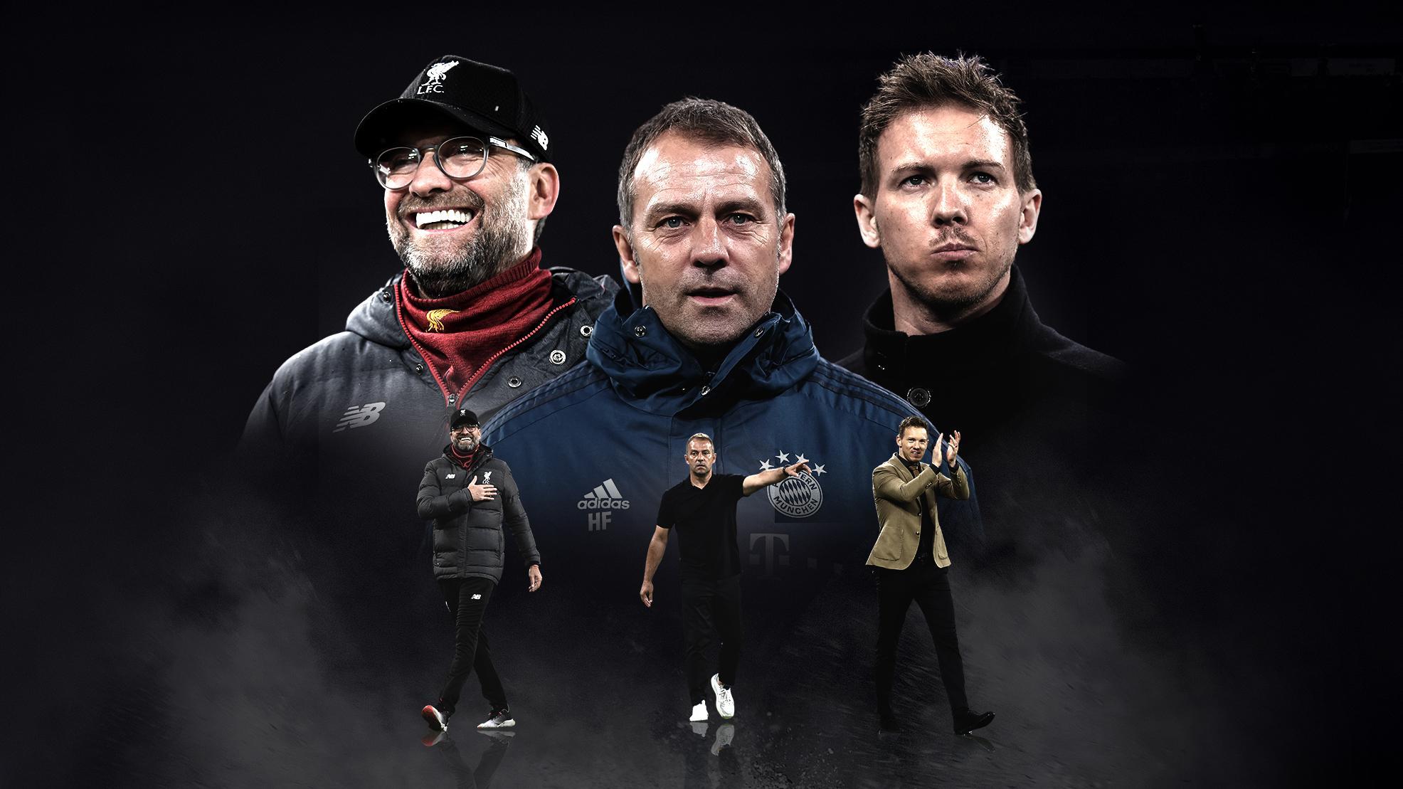 Entraîneur d'équipe masculine de l'année UEFA, Flick, Klopp et Nagelsmann nommés