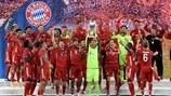 Le Bayern soulève sa deuxième Super Coupe de l'UEFA