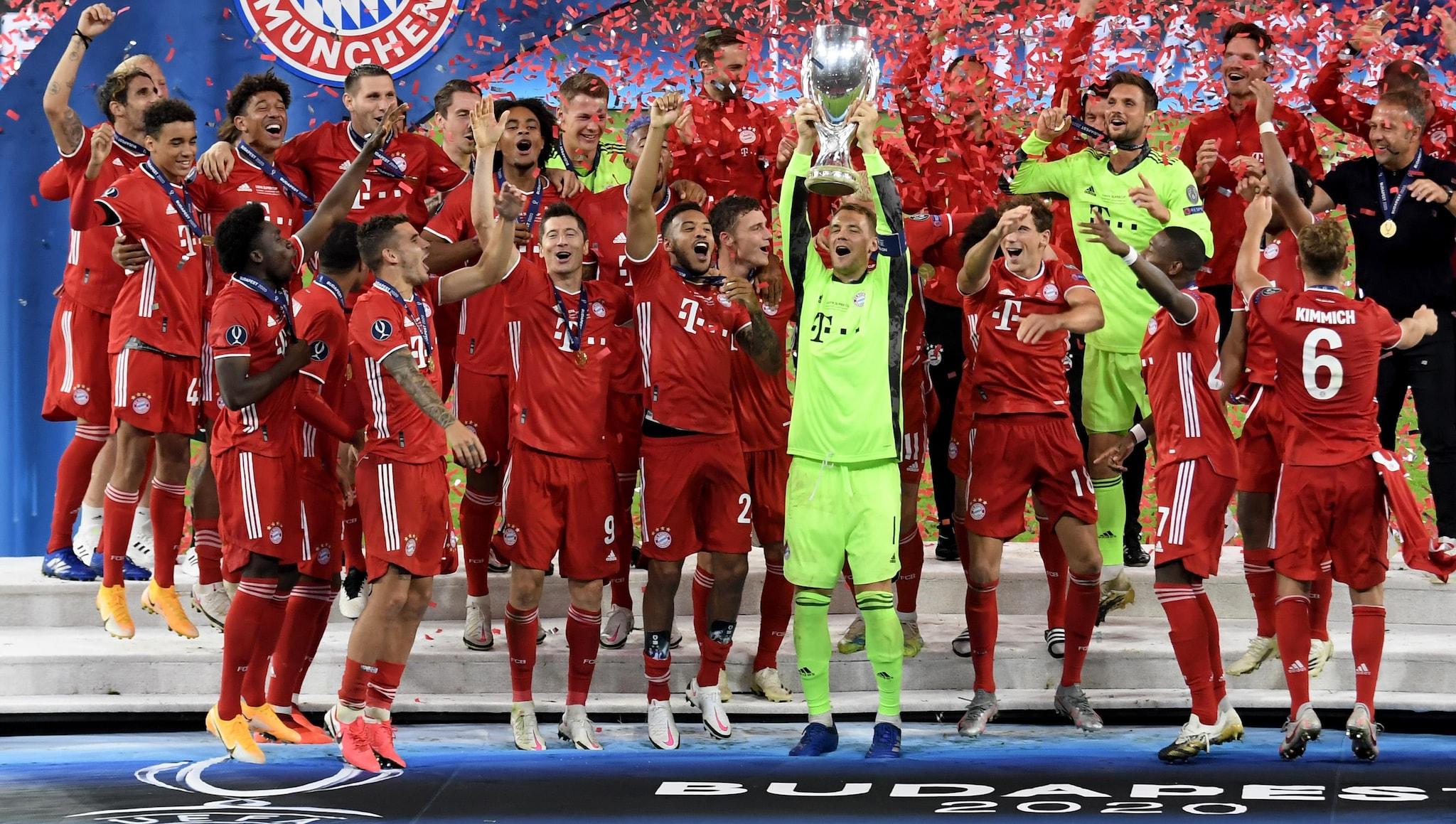 Bayern vence Sevilha e conquista a Supertaça