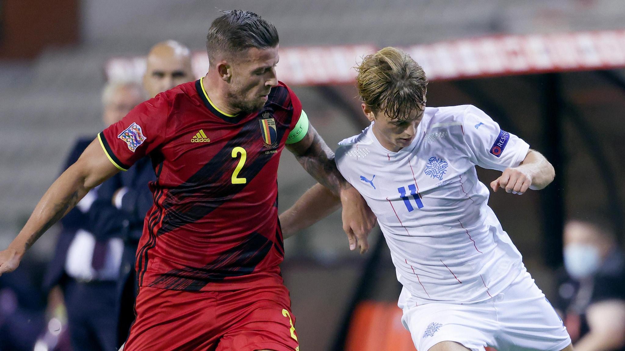 Islande-Belgique en Nations League, présentation du match