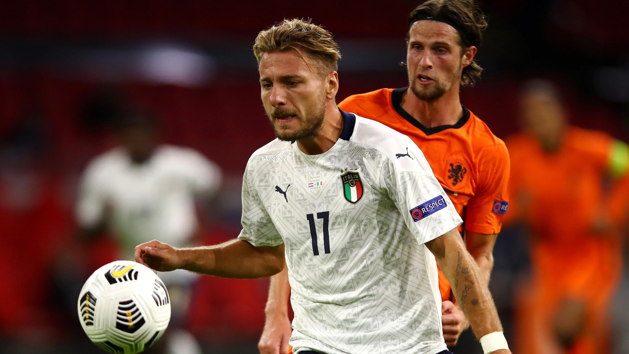 Netherlands V Italy   Uefa Nations League
