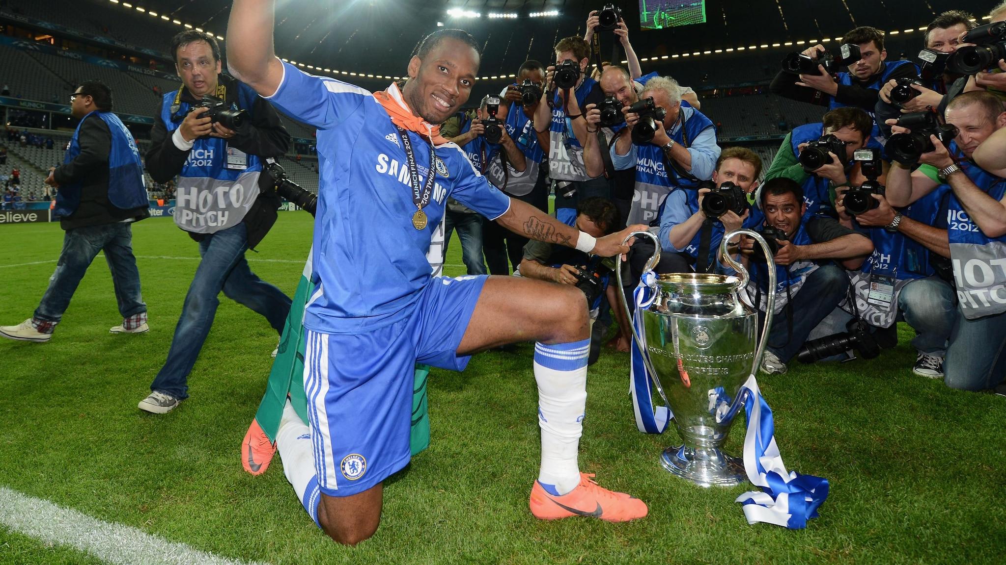 how brilliant was chelsea s final master didier drogba uefa champions league uefa com uefa champions league