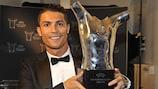 Ronaldo named UEFA Best Player in Europe