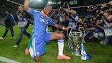 Didier Drogba ganó la UEFA Champions League con el Chelsea en 2012
