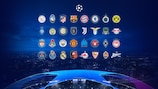The UEFA Champions League group stage draw will take place on 1 October