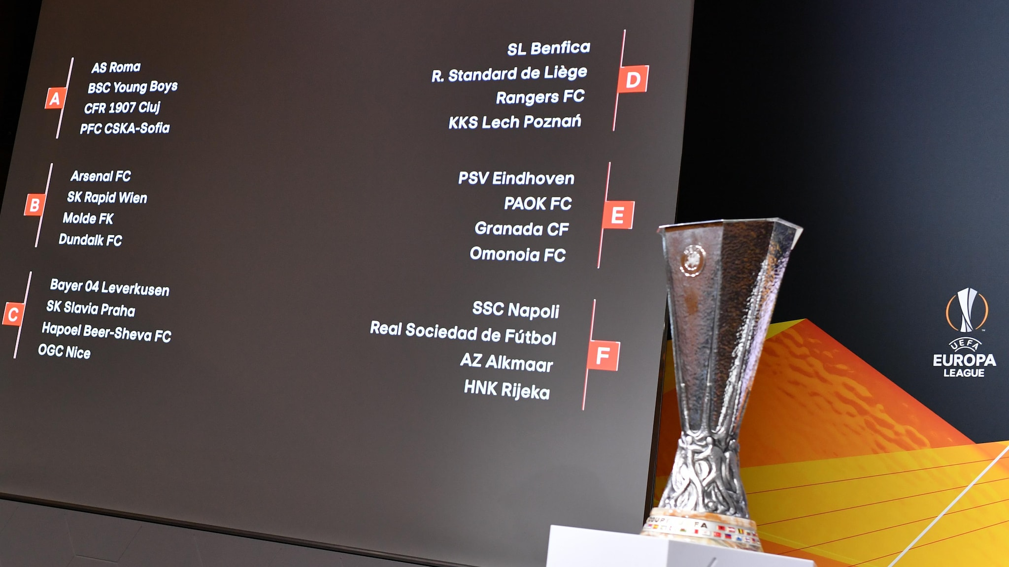 Europa League group stage draw made | UEFA Europa League | UEFA.com
