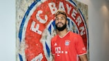 Eric Maxim Choupo-Moting has joined UEFA Champions League holders Bayern