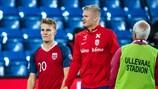 Martin Odegaard y Erling Braut Haaland quieren llevar a Noruega a la EURO