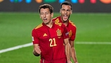 Mikel Oyarzabal erzielte das Goldene Tor für Spanien