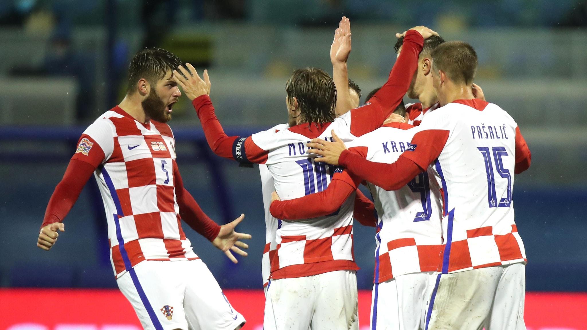 Report: Croatia 2-1 Sweden