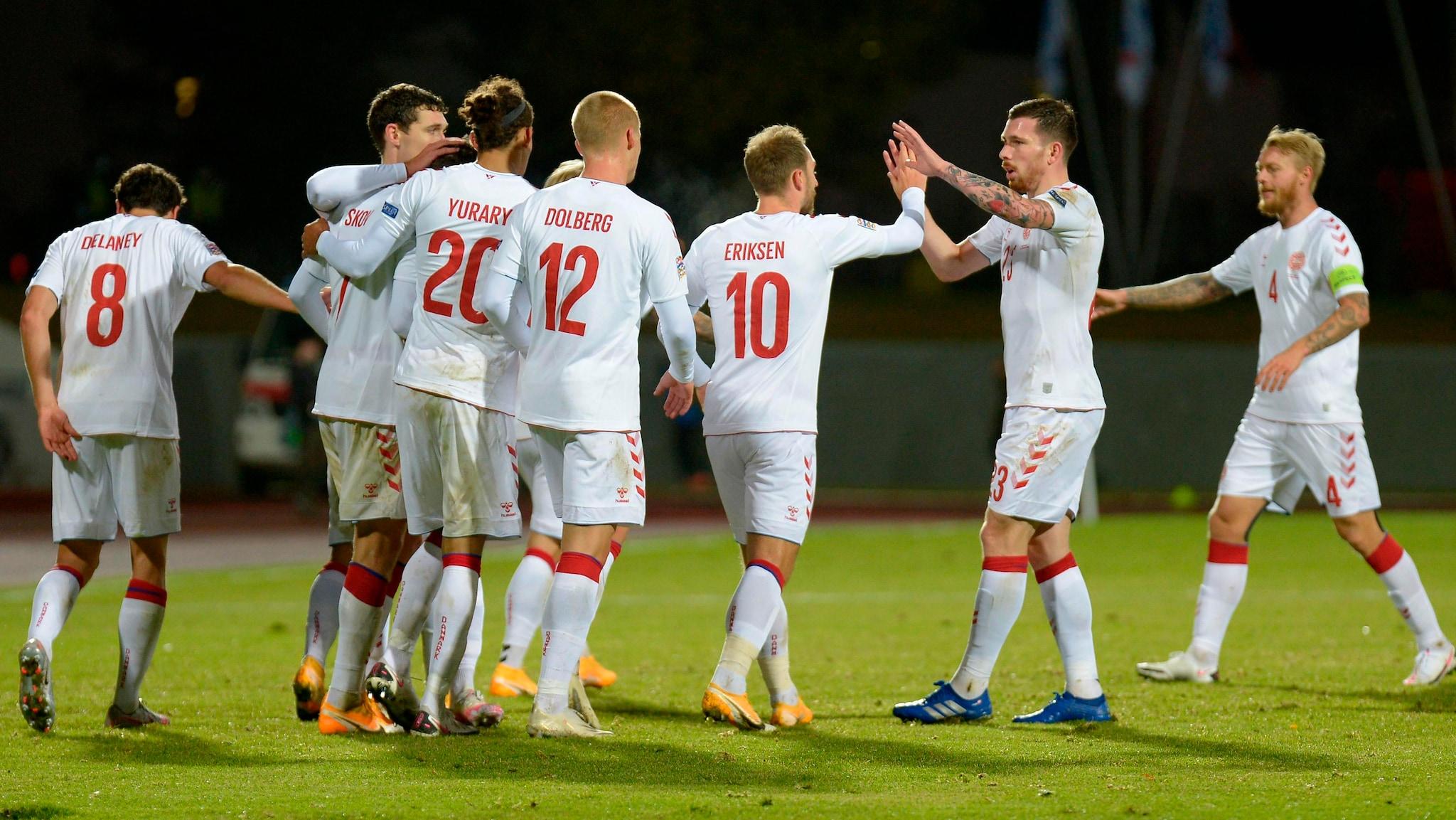 Report: Iceland 0-3 Denmark