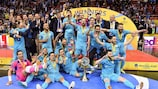 História da Taça UEFA Futsal