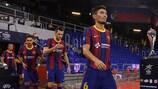 Holders Barça lead the seedings