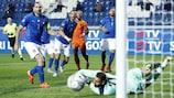 Chance der Niederlande in Bergamo