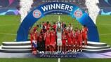 Bayern enjoy their 2020 triumph