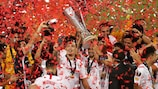 Sevilla added to their record haul in 2020