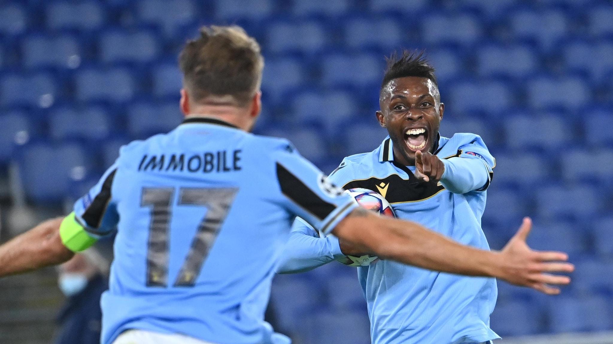 Lazio leading Dortmund, Paris level against United | UEFA Champions League  | UEFA.com