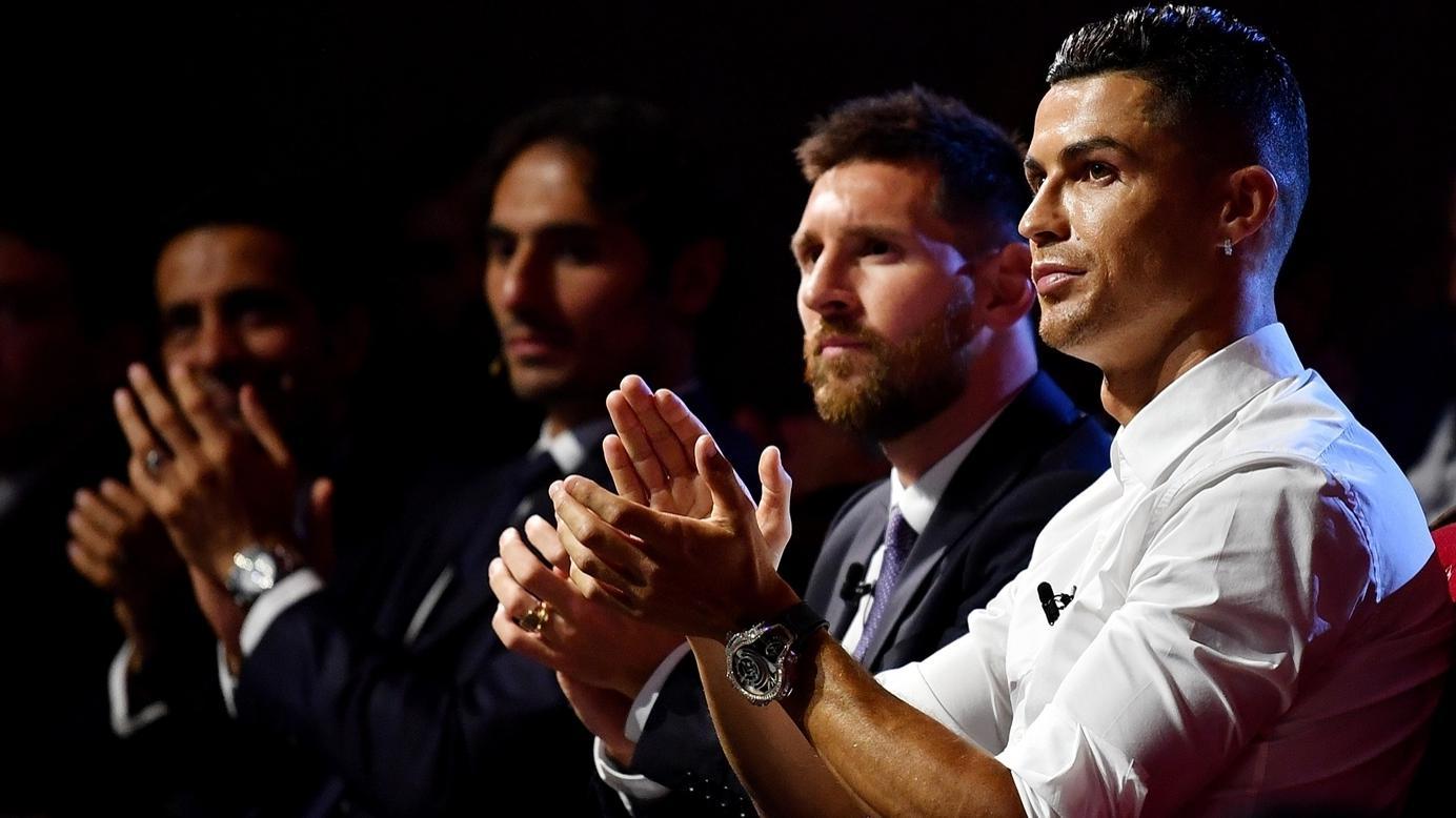 Messi vs Ronaldo goal for goal
