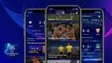 Die App zur UEFA Champions League
