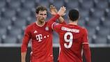 El Bayern goleó al Atlético en la primera jornada