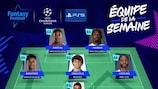 L'Équipe de la Semaine Fantasy Football en Champions League