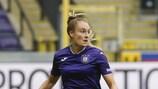 Tessa Wullaert traf doppelt für Anderlecht