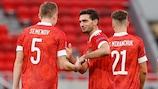 Гостевой матч с венграми сборная России выиграла со счетом 3:2