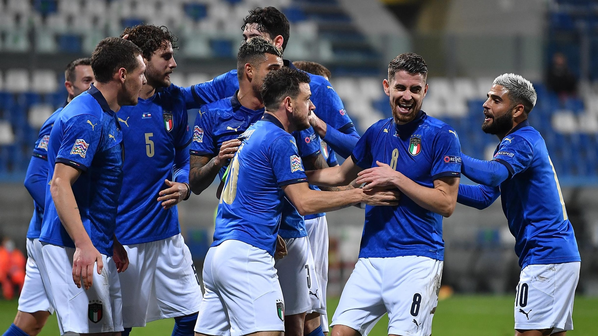Report: Italy 2-0 Poland