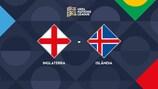 A Inglaterra recebe a Islândia em Wembley