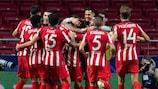 El Atlético de Madrid busca su segunda victoria UCL seguida
