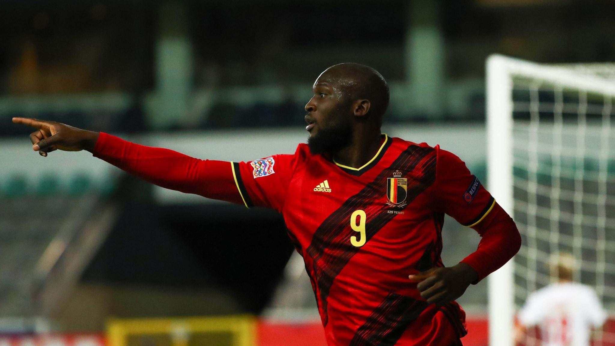 Belgium 4-2 Denmark: Lukaku seals finals spot