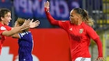 Benfica won away at Anderlecht to reach the last 32 on debut