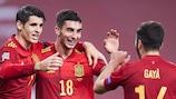 España logró un histórico triunfo ante Alemania