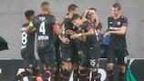 Leverkusen konnte das Hinspiel auswärts gewinnen