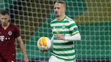 Celtic's Leigh Griffiths after scoring against Sparta
