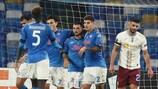 Foto Alessandro Garofalo/LaPresse 26 novembre 2020 Napoli, Italia sport calcio Napoli vs Rijeka