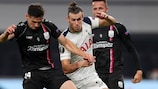 Gareth Bale getting close attention in Spurs' opener against LASK