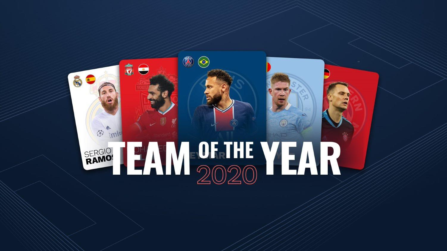 Men's Team of the Year: stats