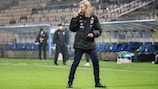 Finland coach Anna Signeul will head back to Scotland to take on her former team in a vital UEFA Women's EURO qualifier