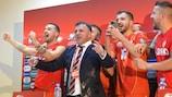 North Macedonia celebrate qualifying