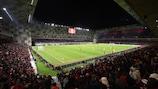 Tirana's National Arena opened in November 2019