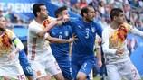 L'ultima sfida tra Italia e Spagna a UEFA EURO 2016