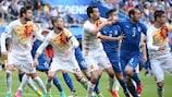 Италия и Испания играли в плей-офф ЕВРО-2016