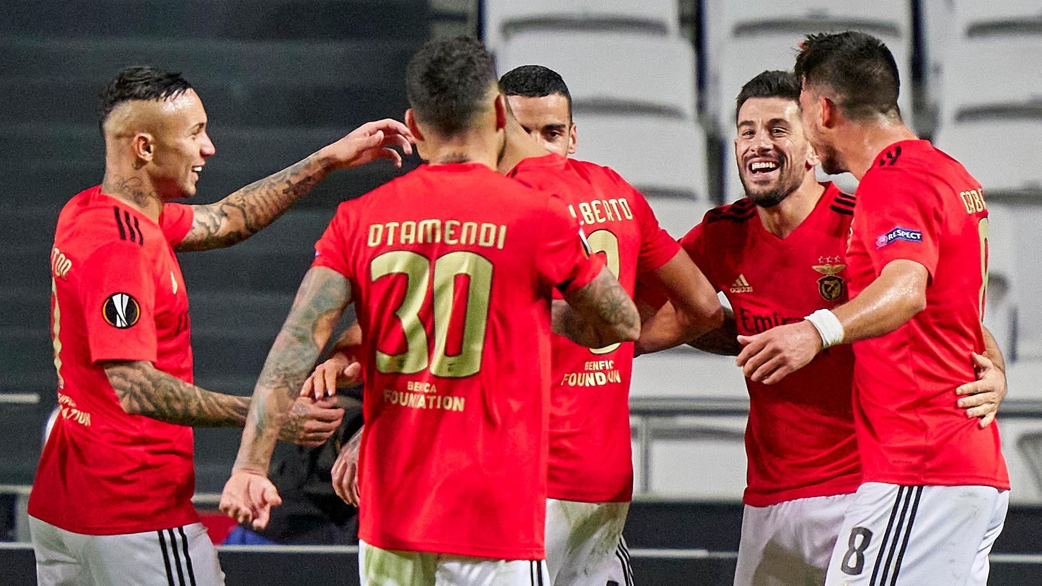 Benfica e Braga entre os apurados
